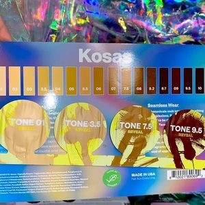 5for$25 kosas tinted face oil tones from 1-9.5